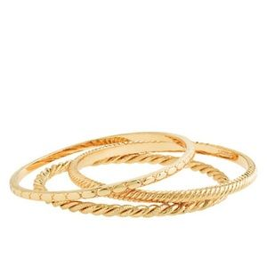 J. Crew Gold Bracelets